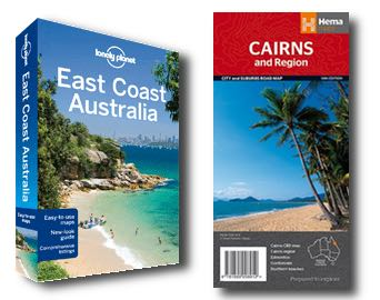 Cairns Map & Lonely Planet Guide