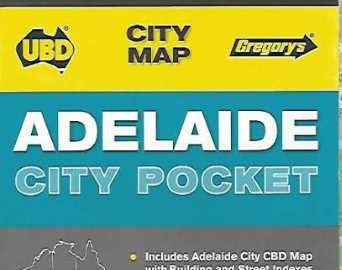 Adelaide City Pocket Map - UBD