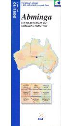 Abminga Topographic Map - SG53-10