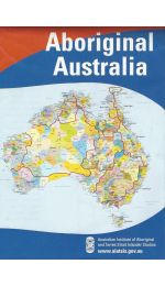 Aboriginal Australia Map Large Folded