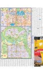 Adelaide City Pocket Map laminated  - UBD
