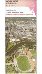 Adelaide 50k SA Topographic Map - 66283