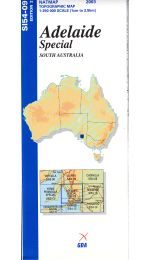 Adelaide Special Topographic Map - SI54-09