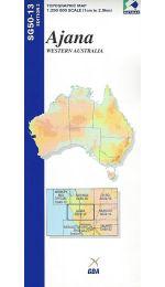 Ajana Topographic Map 250k - SG50-13