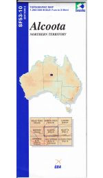 Alcoota Topographic Map - SF53-10