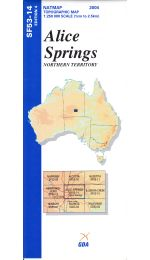 Alice Springs Topographic Map - SF53-14