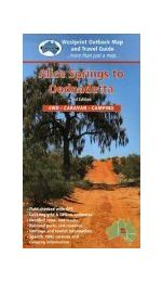Alice Springs Oodnadatta Map - Westprint