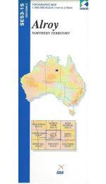 Alroy Topographic Map - SE53-15