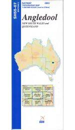 Angledool Topographic Map - SH55-07
