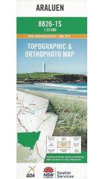 Araluen Topographic Map - 8826-1S