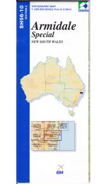 Armidale Special Topographic Map - SH56-10