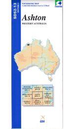 Ashton Topographic Map - SD52-13