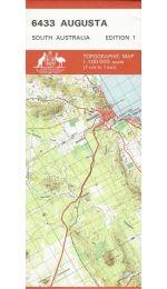Augusta SA 100k Topographic Map - 6433