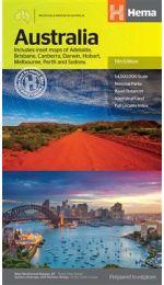 Australia Map - Hema Maps