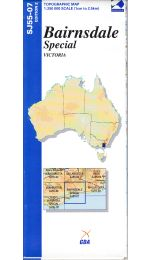 Bairnsdale Special Topographic Map - SJ55-07