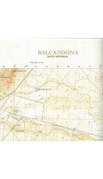 Balcanoona Topographic Map - 67361