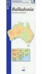 Balladonia Topographic Map - SI51-03
