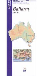 Ballarat Topographic Map - SJ54-08