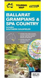 Ballarat, Grampians & Spa Country - UBD