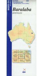 Baralaba Topographic Map - SG55-04