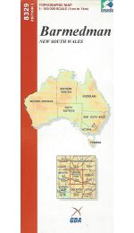 Barmedman NSW Topographic Map - 8329