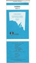 Barna 50k Topographic Map - 6231-4