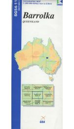 Barrolka Topographic Map - SG54-11