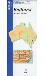 Bathurst Topographic Map - SI55-08