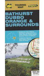 Bathurst Dubbo Orange Map - UBD