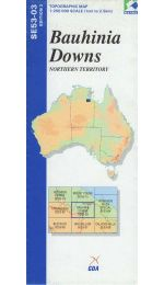 Bauhinia Downs Topographic Map - SE53-03
