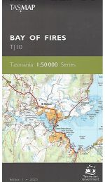 Bay of Fires Topographic Map - TJ10