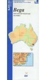 Bega Topographic Map - SJ55-04