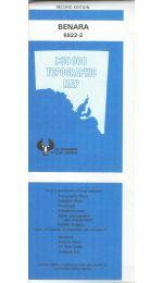 Benara Topographic Map  - 69222