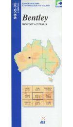Bentley Topographic Map - SG52-05