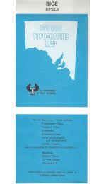 Bice 50k Topographic Map - 52341