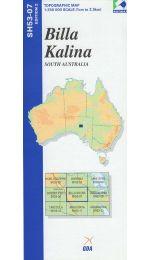 Billa Kalina Topographic Map - SH53-07