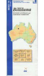 Billiluna Topographic Map - SE52-14