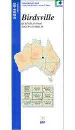 Birdsville Topographic Map - SG54-05