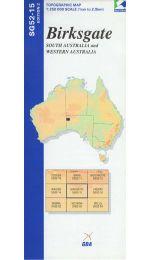 Birksgate Topographic Map - SG52-15