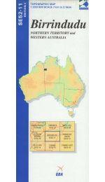 Birrindudu Topographic Map - SE52-11