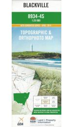 Blackville 25k Topographic Map -8934-4S