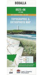 Bodalla Topographic Map 25k - 8925-4N