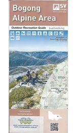Bogong Alpine Area Outdoor Recreation Guide Map