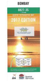 Bombay Topographic Map - 8827-3S