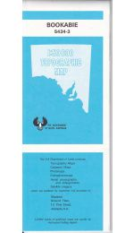 Bookabie SA Topographic Map - 54343