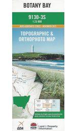 Botany Bay Topographic Map - 9130-3S