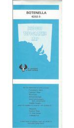 Botenella Topographic Map - 62323