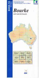 Bourke Topographic Map - SH55-10