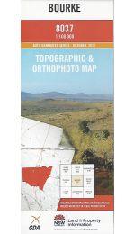 Bourke Topographic Map 100k - 8037