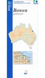 Bowen Topographic Map - SF55-03